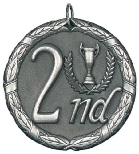 second place xr series medal