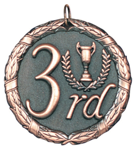 third place xr series medal