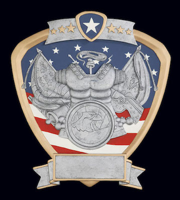 army signature shield resin