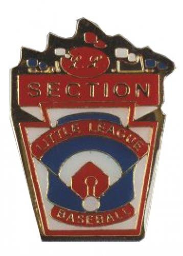 section little league baseball pin