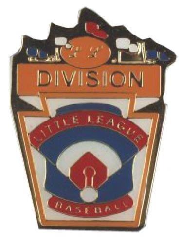 division little league baseball pin