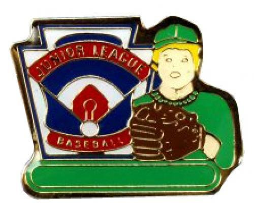 junior league baseball pin