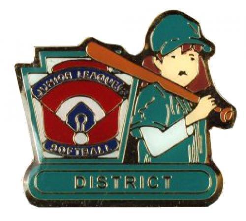 district junior league softball pin