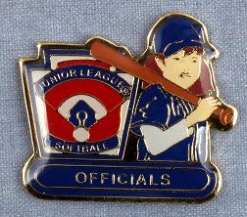 official junior league softball pin