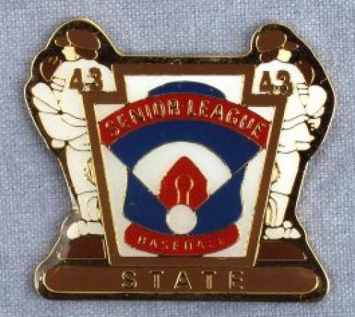 state senior league baseball pin