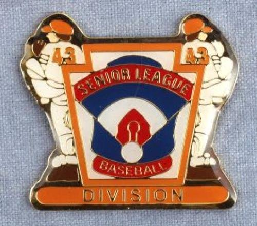 division senior league baseball pin