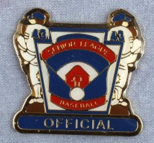 official senior league baseball pin