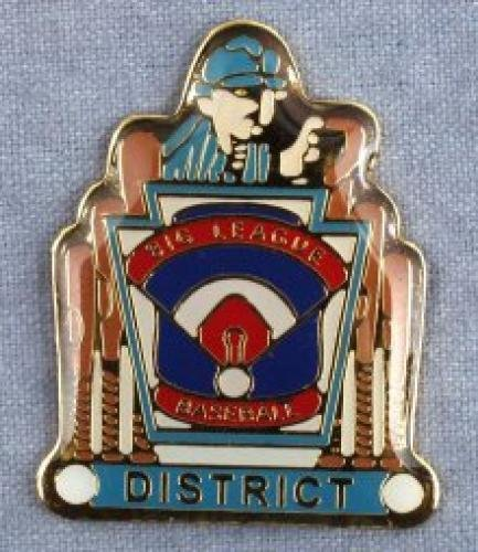 district big league baseball pin