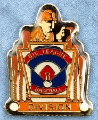 division big league baseball pin