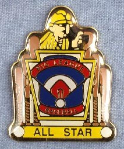 all star big league baseball pin