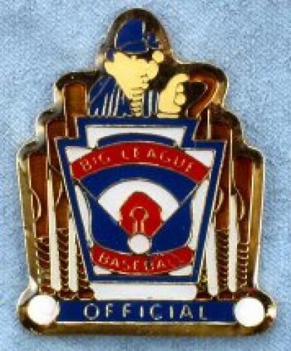 official big league baseball pin