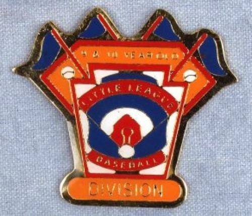 division 9-10 year old baseball pin