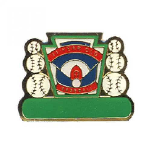 11 year old baseball pin