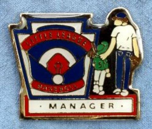 manager little league pin