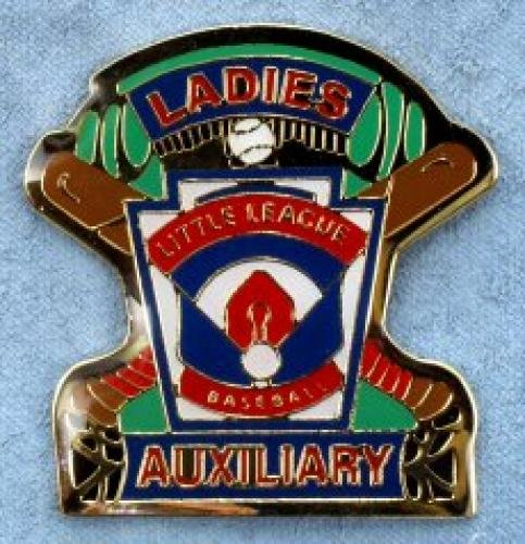 ladies auxiliary little league pin
