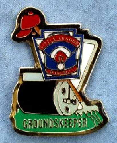 groundskeeper little league pin
