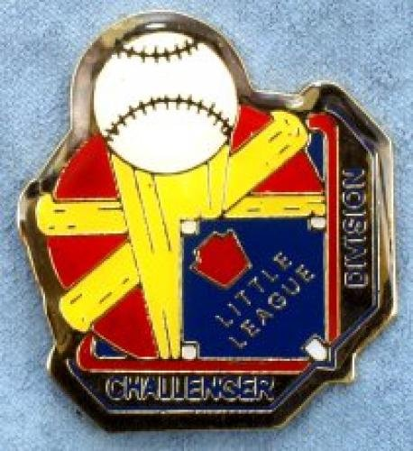 challenger little league pin