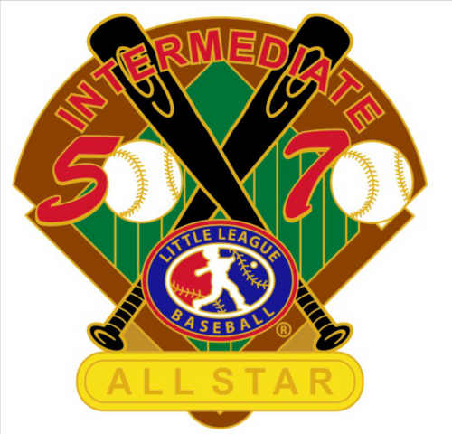 all star 50/70 tournament little league pin