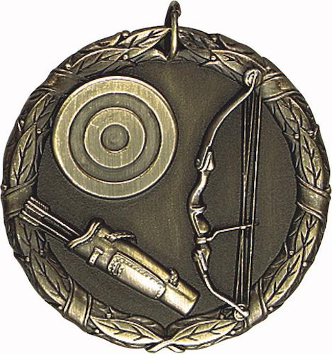 archery xr series medal