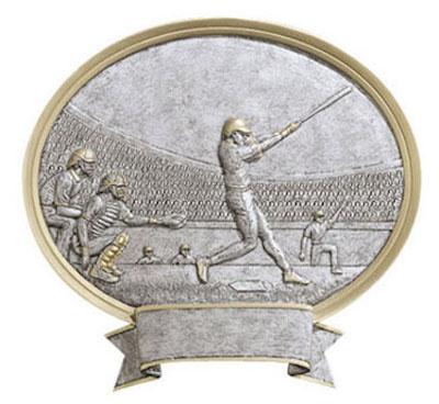 baseball oval legend resin