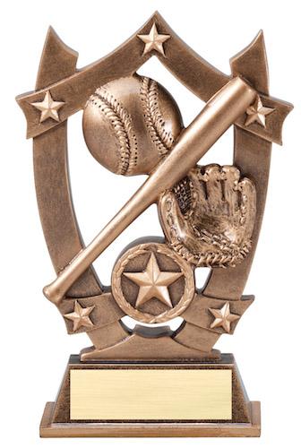 baseball sport stars resin
