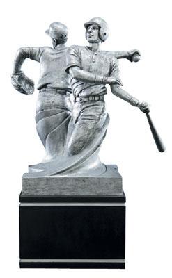 baseball double action resin