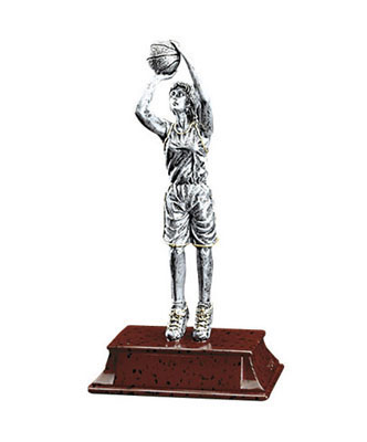 female basketball elite resin