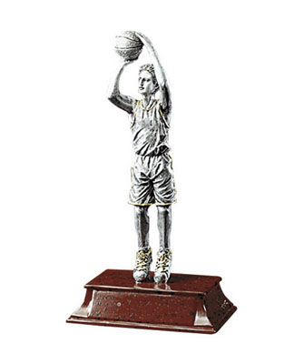 male basketball elite resin