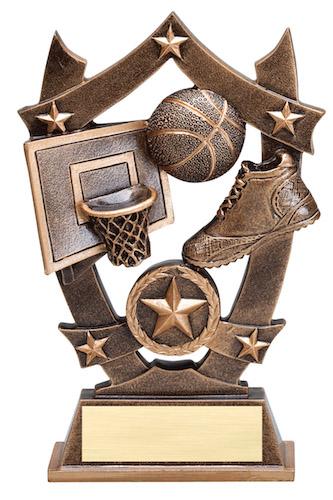 basketball sport stars resin