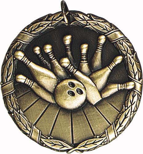 bowling xr series medal