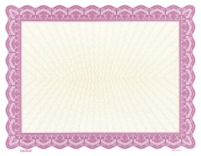 lavender blank certificate