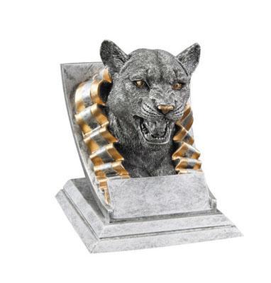 cougar mascot resin