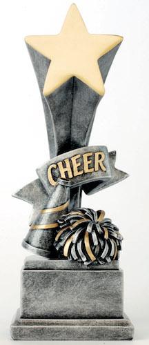 cheer star award resin