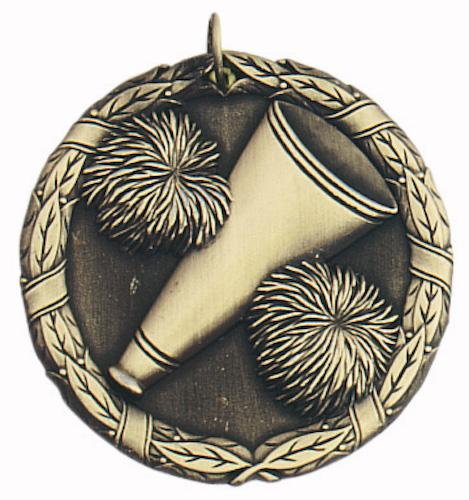 cheerleading xr series medal