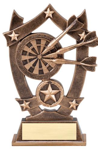 darts sport stars resin