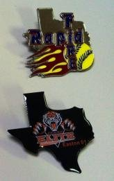 Custom Little League Enamel Pins