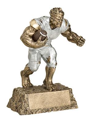 football monster resin