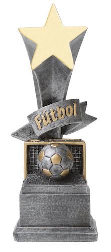 futbol star award resin