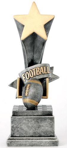 football star award resin