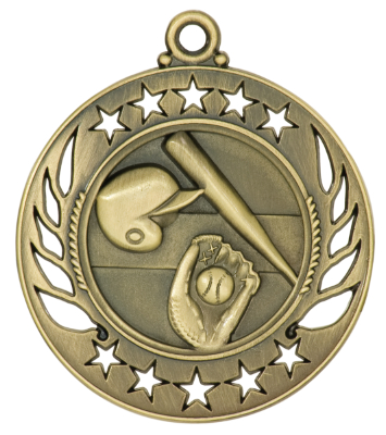 baseball galaxy medal