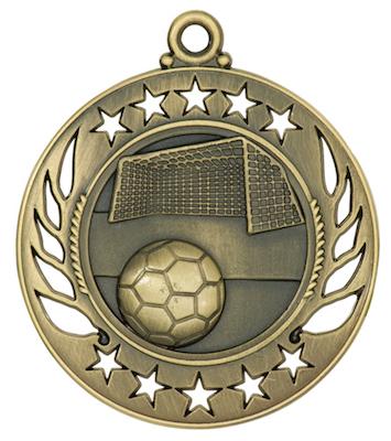 soccer galaxy medal