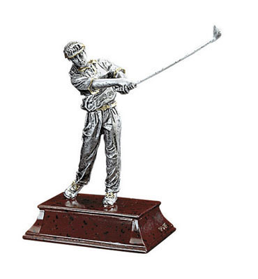 female golf elite resin