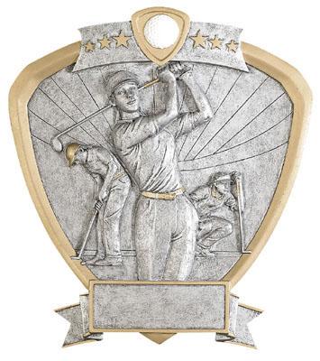 female golf signature shield resin
