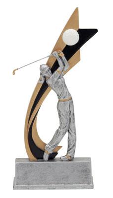 female golf live action resin