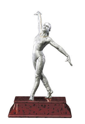 female gymnast elite resin