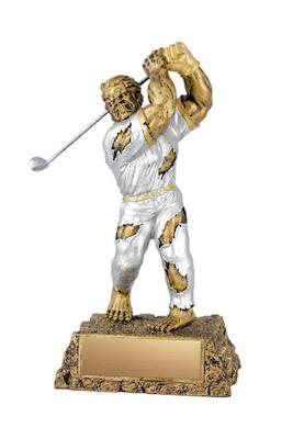 golf monster resin