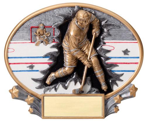 hockey motion x oval resin