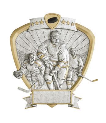 hockey signature shield resin