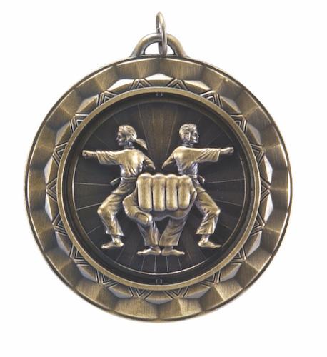 karate 360 series medal