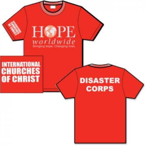 Red Disaster Relief TShirts